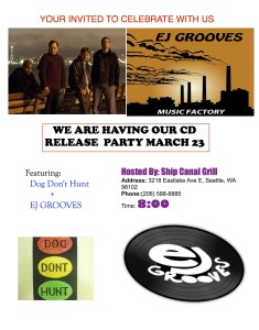 CD PARTY FLIER